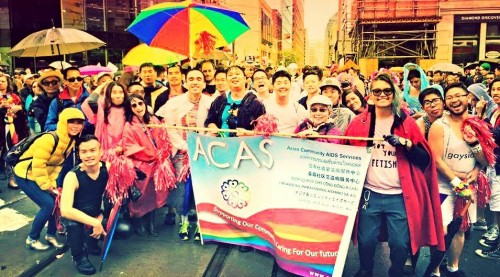 ACAS Pride 2015 Group Photo