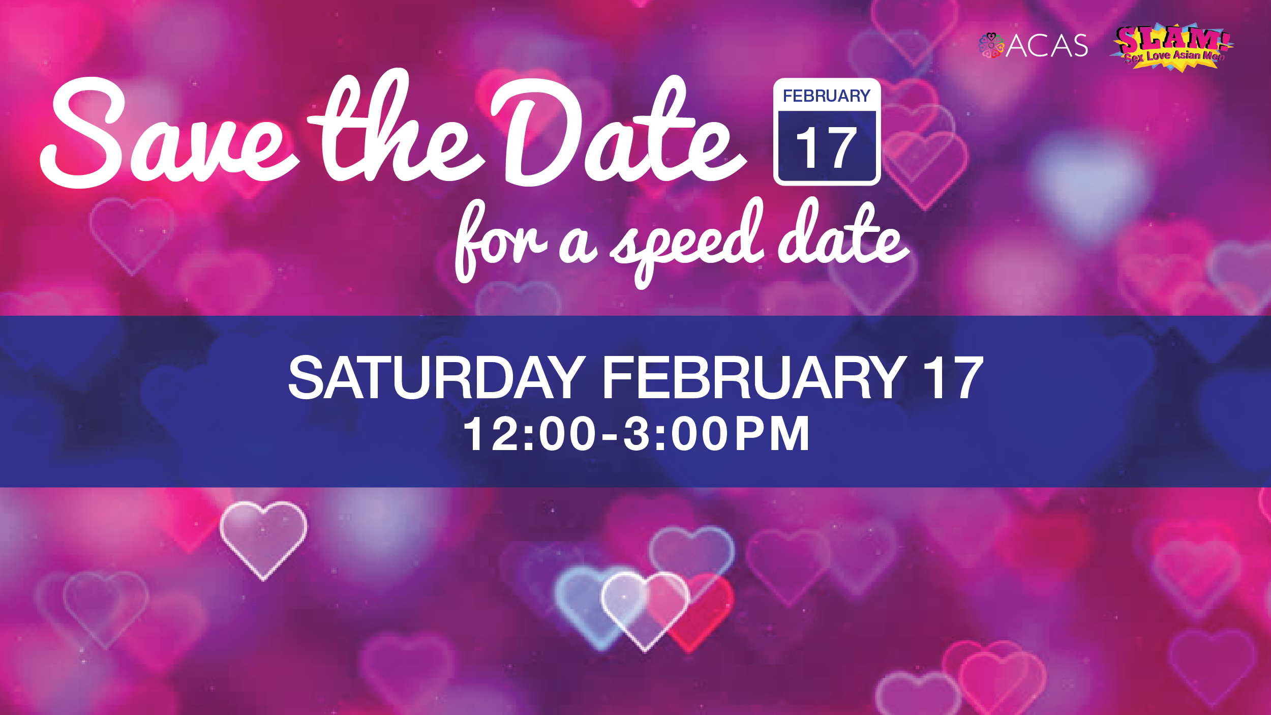 SpeedDating2018 - Save the date